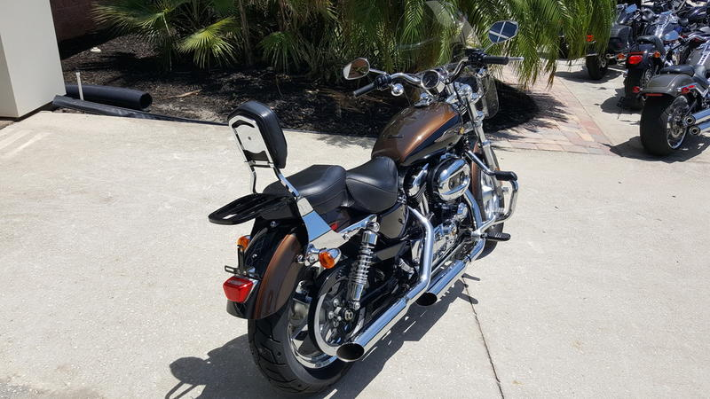 Pre-Owned 2013 Harley-Davidson 1200 Custom 110th Anniversary