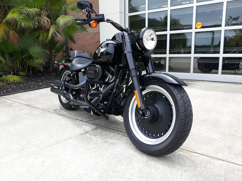 Pre-Owned 2017 Harley-Davidson Fat Boy S
