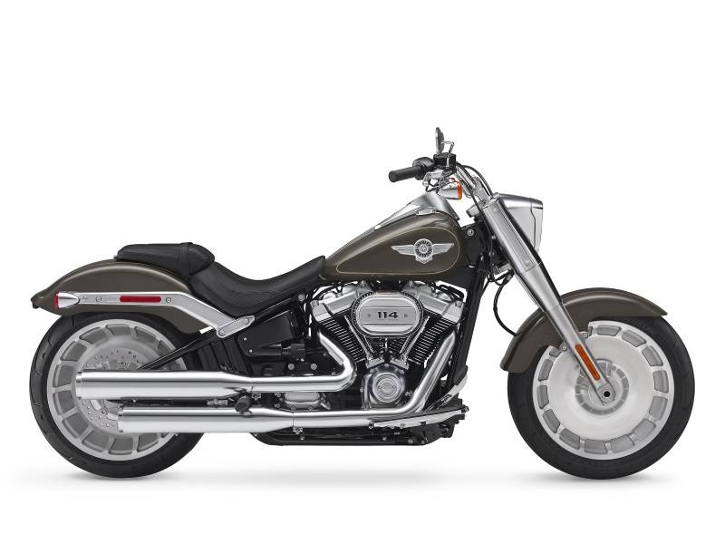 New 2018 Harley-Davidson Fat Boy 114