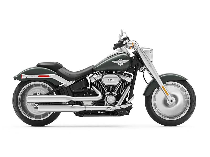 New 2020 Harley-Davidson Fat Boy 114