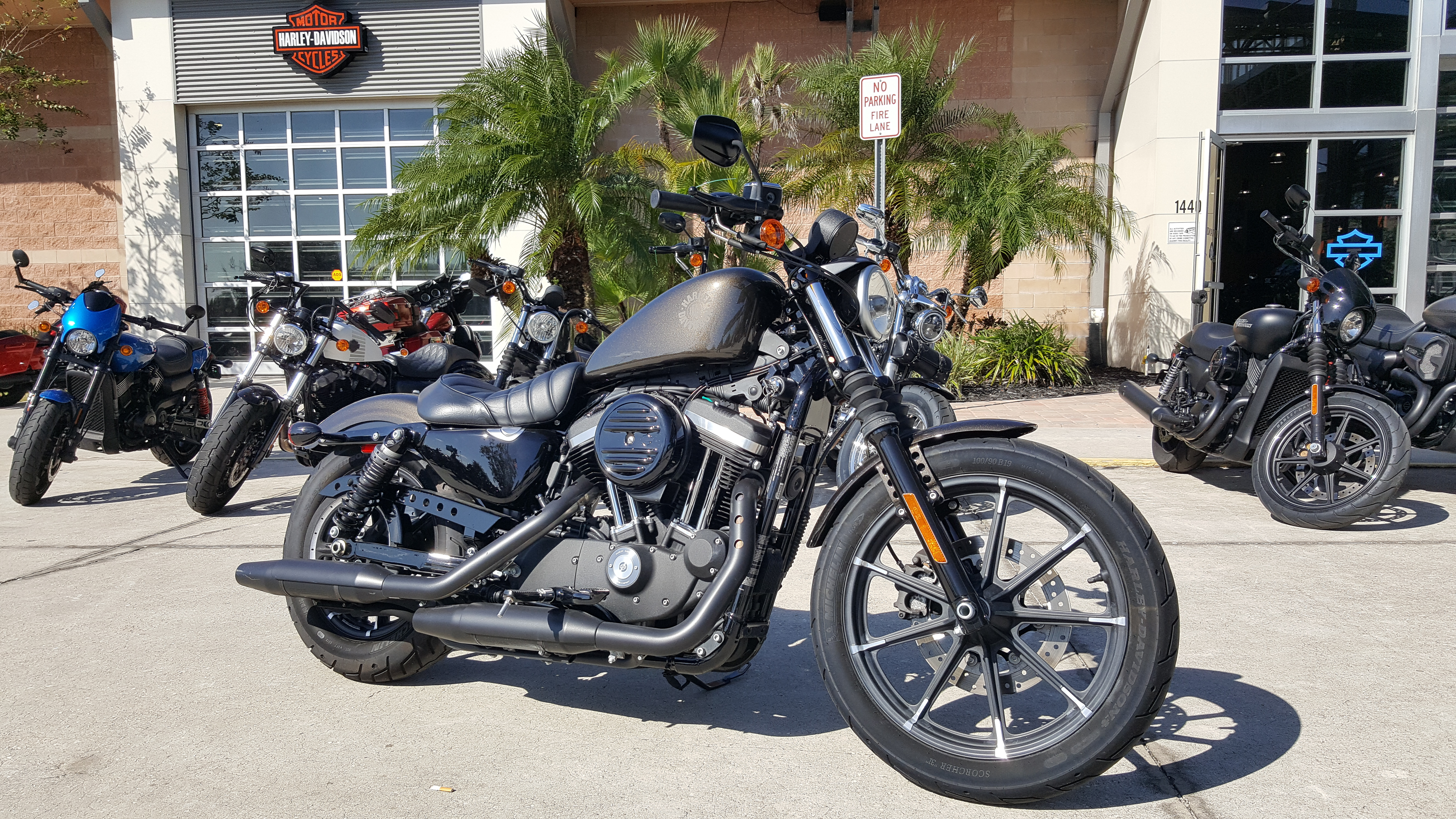 Pre-Owned 2017 Harley-Davidson Iron 883