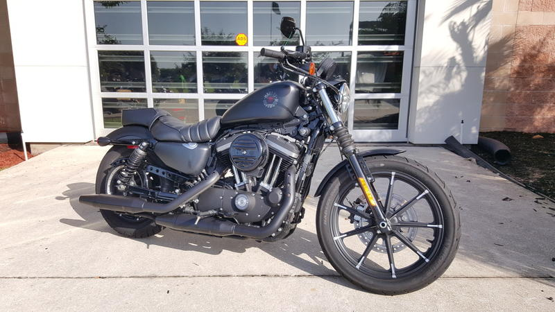 Pre-Owned 2019 Harley-Davidson XL 883N - Sportster Iron 883